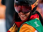 Michelle Salt, PyeongChang 2018 - Para Snowboard // Parasnowboard.<br /> Highlights of Team Canada during Para Snowboard competition // Faits saillants d'Équipe Canada lors d'une compétition de parasnowboard. 12/03/2018.