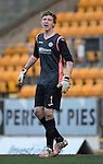 St Johnstone Academy v Manchester United Academy....17.04.15   <br /> Keeper Ben McKenzie<br /> Picture by Graeme Hart.<br /> Copyright Perthshire Picture Agency<br /> Tel: 01738 623350  Mobile: 07990 594431