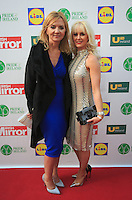 19/05/2015 <br /> Paula lenihan RSVP & Aisling holly <br /> during the Irish mirror pride of Ireland awards at the mansion house, Dublin.<br /> Photo: gareth chaney Collins