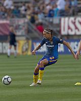 Sweden defender Charlotte Rohlin (2). The US Women's national team beat Sweden, 3-0, at Rentschler Field on July 17, 2010.