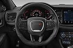 Car pictures of steering wheel view of a 2021 Dodge Durango GT 5 Door SUV Steering Wheel