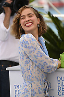 CANNES, FRANCE. July 8, 2021: Haley Lu Richardson at the photocall for After Yang at the 74th Festival de Cannes.<br /> Picture: Paul Smith / Featureflash