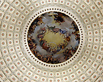 Rotunda paintings in US Capitol Washington DC,  Rotunda of US Capitol, United States Capitol Washington D.C., United States Capital and legislature, Federal government of the United States of America Washington D.C., National Mall, Capitol Hill,