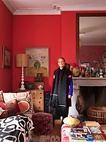 Lucinda Chambers in her London living room