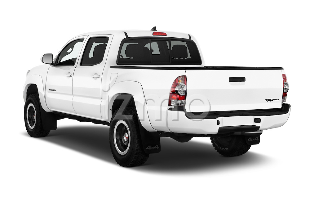 Car pictures of rear three quarter view of 2015 Toyota Tacoma TRD Pro 4 Door Pickup Angular Rear