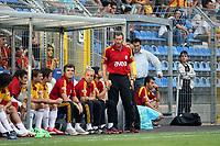 Trainer Michael Skibbe (Galatasaray)<br /> TSG 1899 Hoffenheim vs. Galatasaray Istanbul, Carl-Benz Stadion Mannheim<br /> *** Local Caption *** Foto ist honorarpflichtig! zzgl. gesetzl. MwSt. Auf Anfrage in hoeherer Qualitaet/Aufloesung. Belegexemplar an: Marc Schueler, Am Ziegelfalltor 4, 64625 Bensheim, Tel. +49 (0) 6251 86 96 134, www.gameday-mediaservices.de. Email: marc.schueler@gameday-mediaservices.de, Bankverbindung: Volksbank Bergstrasse, Kto.: 151297, BLZ: 50960101