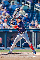 2 March 2019: Minnesota Twins outfielder Brent Rooker in action during a Spring Training game against the Washington Nationals at the Ballpark of the Palm Beaches in West Palm Beach, Florida. The Twins fell to the Nationals 10-6 in Grapefruit League play. Mandatory Credit: Ed Wolfstein Photo *** RAW (NEF) Image File Available ***
