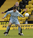 02/02/2008    Copyright Pic: James Stewart.File Name : sct_jspa03_livingston_v_partick_th.LIAM BUCHANAN HOLDS OFF JAMES MCPAKE.James Stewart Photo Agency 19 Carronlea Drive, Falkirk. FK2 8DN      Vat Reg No. 607 6932 25.Studio      : +44 (0)1324 611191 .Mobile      : +44 (0)7721 416997.E-mail  :  jim@jspa.co.uk.If you require further information then contact Jim Stewart on any of the numbers above........