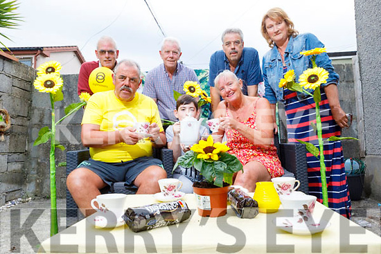 Joe Flaherty and family in St Johns Park are holding a coffee fundraising morning this Friday at home from 11am till 1pm for Sightsavers in memory of their late father Joe. <br /> Seated l to r: Joe Flaherty jnr, Billy Cashman and June Brosnan.<br /> Back l to r: Billy Cashman, Tim, Mike and Mary Flaherty.