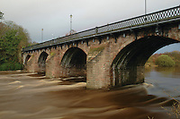 Bothwell Bridge and the River Clyde, Bothwell, South Lanarkshire<br /> <br /> Copyright www.scottishhorizons.co.uk/Keith Fergus 2011 All Rights Reserved