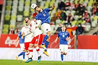 11.10.2020 Danzica Nations League Gruppo A Polonia Italia  GAME POLAND - ITALY  NZ GRZEGORZ KRYCHOWIAK FOTO LUKASZ GROCHALA/CYFRASPORT / NEWSPIX.PL --- Newspix.pl PUBLICATIONxNOTxINxPOL 20201011CSLG0027 <br /> ITALY ONLY