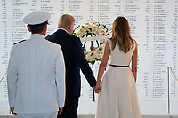 President Trump's Trip to Asia<br /> <br /> President Donald J. Trump and First Lady Melania Trump visit Hawaii | November 3, 2017 (Official White House Photo by Shealah Craighead)