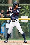 #25 Kitayama Miku high of Japan bats during the BFA Women's Baseball Asian Cup match between South Korea and Japan at Sai Tso Wan Recreation Ground on September 2, 2017 in Hong Kong. Photo by Marcio Rodrigo Machado / Power Sport Images