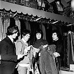 The Kinks 1966 Dave Davies, Pete Quaife, Ray Davies and Mick Avory in Carnaby Street<br /> © Chris Walter