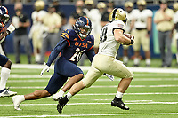 SAN ANTONIO, TX - OCTOBER 17, 2020: The University of Texas at San Antonio Roadrunners fall to the United States Military Academy Army Black Knights 28-16 at the Alamodome (Photo by Jeff Huehn).