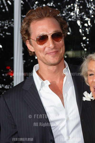 Actor MATTHEW McCONAUGHEY at the world premiere, in Beverly Hills, of his new movie Two For The Money..September 26, 2005  Beverly Hills, CA..© 2005 Paul Smith / Featureflash