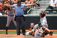 Rupp, Cameron 0535.jpg.  Big 12 Baseball game with Texas A&M Aggies at Texas Lonhorns  at UFCU Disch Falk Field on May 9th 2009 in Austin, Texas. Photo by Andrew Woolley.