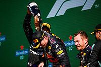 5th September 2021: Circuit Zandvoort, Zandvoort, Netherlands;  44 Lewis Hamilton GBR, Mercedes-AMG Petronas F1 Team, 33 Max Verstappen NED, Red Bull Racing, F1 Grand Prix of the Netherlands at Circuit Zandvoort