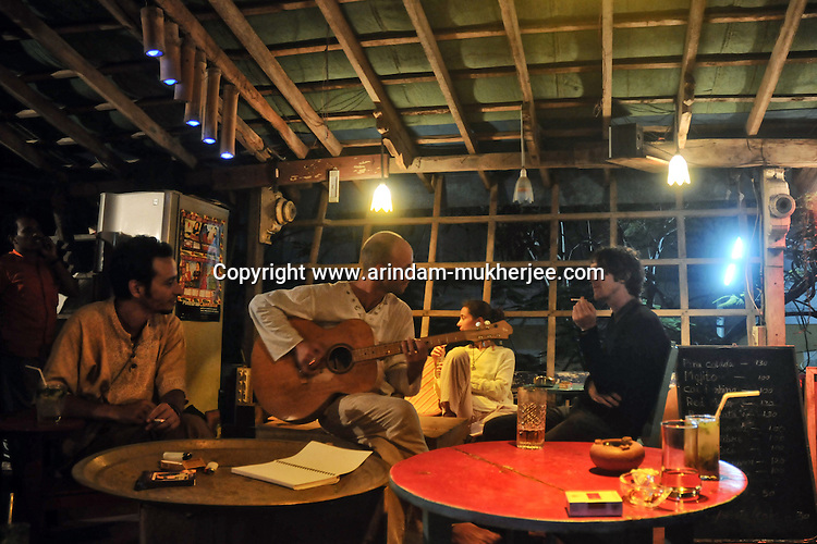Le Space a favourite bar among the western tourists and residents in Pondicherry. Arindam Mukherjee
