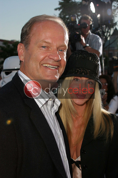 """Kelsey Grammer and wife Camille<br /> at the """"Star Wars: Revenge Of The Sith"""" Los Angeles Premiere, Mann Village, Westwod, CA 05-12-05<br /> David Edwards/DailyCeleb.Com 818-249-4998"""