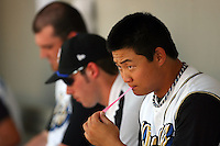 July 16 2008:  Hank Congor of the Rancho Cucamonga Quakes during game against the High Desert Mavericks at The Epicenter in Rancho Cucamonga,CA.  Photo by Larry Goren/Four Seam Images