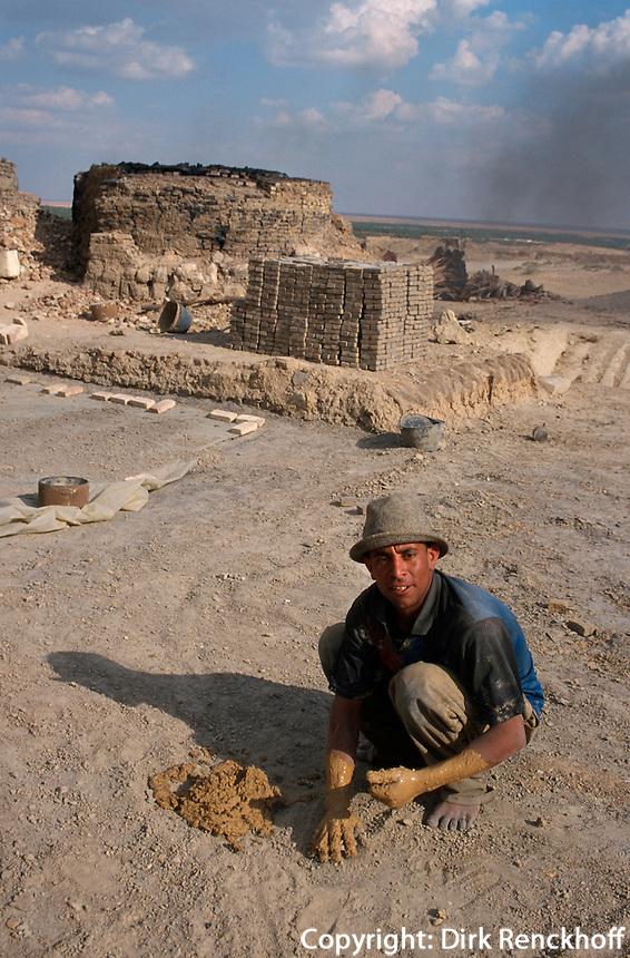 Ziegelbrenner, Tozeur, Tunesien