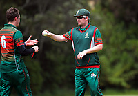 Action from the Ewen Chatfield Trophy Wellington premier men's division one cricket one-day match between Onslow and Johnsonville at Nairnville Park in Wellington, New Zealand on Saturday, 5 December 2020. Photo: Dave Lintott / lintottphoto.co.nz