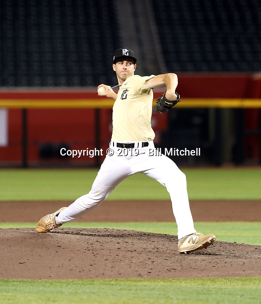 Josh Swales participates in the 2019 PG National Showcase at Chase Field on June 11-15, 2019 in Phoenix, Arizona (Bill Mitchell)