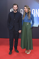 Jamie Dornan mit Ehefrau Amelia Warner at the 'Belfast' premiere during the 65. BFI London Film Festival 2021 at the Royal Festival Hall. London, 12.10.2021. Credit: Action Press/MediaPunch **FOR USA ONLY**