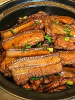 Yangzhou, Jiangsu, China.  Pork with Fat.