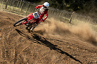 Brett Fisher in action, South Eastern EVO during the Richard Fitch Memorial Trophy Motocross at Wakes Colne MX Circuit on 18th July 2021