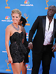 Heidi Klum & Seal at The 62nd Anual Primetime Emmy Awards held at Nokia Theatre L.A. Live in Los Angeles, California on August 29,2010                                                                   Copyright 2010  DVS / RockinExposures