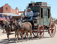 TOMBSTONE ARIZONA STAGECOACH<br /> THE TOWN TO TOUGH TO DIE IS HOME TO THE SHOOT OUT AT THE OK CORRAL AND EACH YEAR YEAR HOSTS FOLKS FROM ALL OVER THE WORLD TO EAT, DRINK, SLEEP AND RUB ELBOWS WITH SPECTORS FROM THE PAST. DRAW STRANGER...