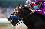 Obviously with Joe Talamo wins the Arroyo Secco Mile Stakes at Santa Anita Park, Arcadia California on October 6, 2012.