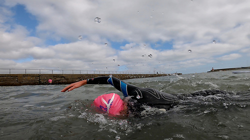 More people are getting involved in open water swimming