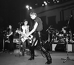 The Clash perform at the Palladium, March 1980