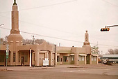 Old Gasoline Station on Old Route 66