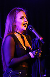 """Jennifer Simard performs """"Stigma"""" on September 9, 2018 at the Green Room 42 in New York City."""