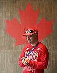 Norm O'Reilly, Rio 2016.<br /> The flag raising welcome ceremony for Canada in the Paralympic Village // Cérémonie d'accueil de lever du drapeau du Canada au village paralympique. 05/09/2016.