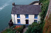 Großbritannien, Wales, Laugharne, The Boat House von Dylan Thomas