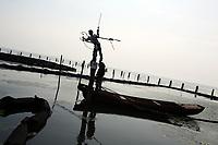 Lake Tai, on the border of Zhejiang and Jiangsu Province in eastern China. 2013