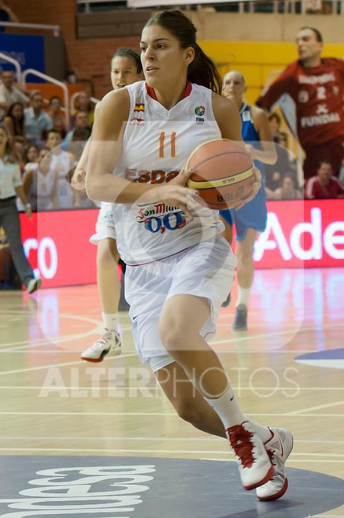 Spanish team´s Marta Xargay during Euro Basket Women Spain vs Sweden