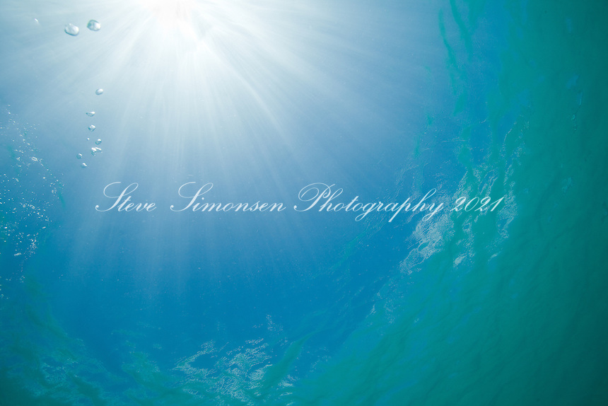 Water and Light<br /> Shallow water with fryfish<br /> Maho Bay, St. John<br /> U.S. Virgin Islands