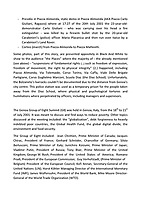"""Genoa (Genova, Liguria), Italy. 19th, 20th, 21st July 2021. Twenty years after the dramatic and terrifying events related to the 2001 Genoa's G8 meeting, according to Amnesty International: """"the most serious suspension of democratic rights in a Western country since the Second World War"""" (1.) and as stated on the 2001 """"Report on the situation of fundamental rights in the EU"""" the European Parliament's """"deplores the suspensions of fundamental rights that took place during public demonstrations, and in particular at the G8 meeting in Genoa, such as freedom of expression, freedom of movement, the right to physical integrity"""" (2.). As a reminder, the City of Genoa is State Gold Medal (Medaglia D'Oro) for its Antifascist Resistance in World War II.<br /> <br /> In these three days, throughout a series of events, Genoa and its People, survivors and witnesses, experts and activists, remembered what happened 20 years ago, discussed the present situation of a world dominated by """"casino capitalism"""", predatory neo-liberalism, wars, rightless globalization, environmental and ecosystem degradation, doped consumerism, sources' depredation, fake news, internet deregulated jungle, the reality of climate change and pandemics, and what a different future and society could be.<br /> <br /> FOR MORE INFO PLEASE READ THE ARTICLE AT THE BEGINNING OF THIS STORY.<br /> <br /> Footnotes, Links:<br /> 1. http://bit.do/fRvdg<br /> 2. http://bit.do/fRvdi<br /> 3. http://bit.do/fRvdj<br /> 4. http://bit.do/fRvdn<br /> 5. http://bit.do/fRvdo<br /> 6. 12.10.18 - Sulla Mia Pelle: Stefano Cucchi's Film Screening http://bit.do/fRvdr<br /> 7. http://bit.do/fRvdt & http://bit.do/fRvdu<br /> 8. http://bit.do/fRvdv & http://bit.do/fRvdw & http://bit.do/fRvdx<br /> 9. http://bit.do/fRvdz<br /> 10. http://bit.do/fRvdA<br /> 11. http://bit.do/fRvdB<br /> http://www.veritagiustizia.it/docs/G8_2021_prog_ITA.pdf http://www.veritagiustizia.it/documenti.php & http://www.veritagiustizia.it/doc_eng/<br /> https://"""