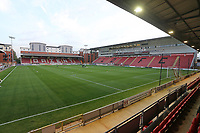 General view of the ground during Leyton Orient vs Plymouth Argyle, Caraboa Cup Football at The Breyer Group Stadium on 15th September 2020