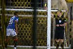"""03.03.2021 Livingston v Rangers: Alfredo Morelos booked for """"simulation"""""""