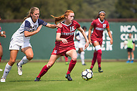 STANFORD, CA - September 3, 2017: Beattie Goad at Cagan Stadium. Stanford defeated Navy 7-0.