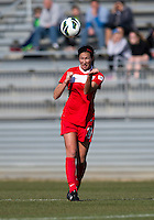 Holly King. The Washington Spirit defeated the North Carolina Tar Heels in a preseason exhibition, 2-0, at the Maryland SoccerPlex in Boyds, MD.