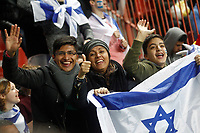 Israel's supporters during FIFA World Cup 2018 Qualifying Round match. March 24,2017.(ALTERPHOTOS/Acero) /NortePhoto.com