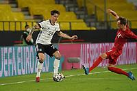 Robin Koch (Deutschland Germany) gegen Mikkel Damsgaard (Dänemark, Denmark) - Innsbruck 02.06.2021: Deutschland vs. Daenemark, Tivoli Stadion Innsbruck